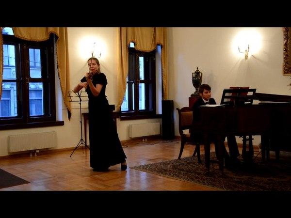 Пабло де Сарасате Цыганские напевы О Артюгина скрипка