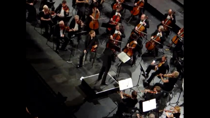 Дэвид Гарретт Бетховен Концерт ре-мажор, Баден-Баден, 6 мая 2011
