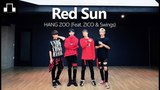 HangZoo - Red Sun (Feat.Zico,Swings) dsomeb Choreography &amp Dance