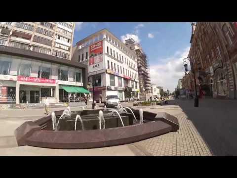 Пешеходная улица Самара лето 2017 часть 3
