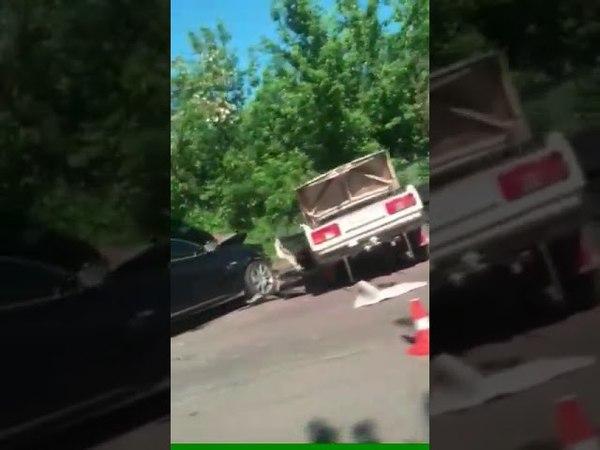 Авария на трассе Черкассы Смела