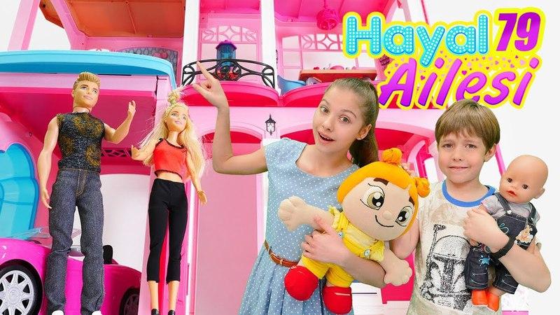Hayal Ailesi. Barbie ve Kenin yeni evine gidiyoruz