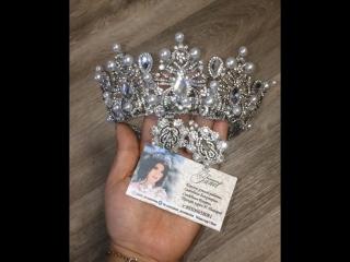За коном зима ) хочется изготовить что то сказочное и необычное ! Новая Корона дорогие девушки , уже доступна для продажи !