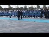 Президент России В.В.Путин прибыл в президентский дворец. Официальная церемония встречи. #Анкара #Турция
