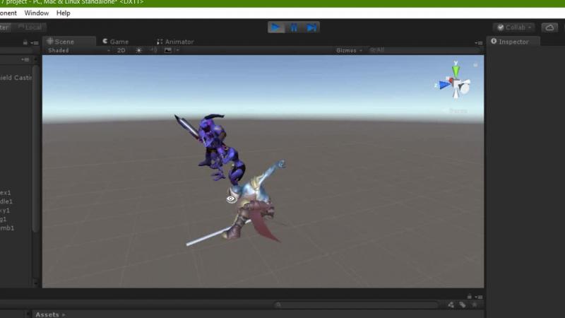 Stick animation test