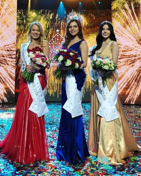 Анастасия Решетова на конкурсе «Мисс Россия» в платье, похожем на свадебное