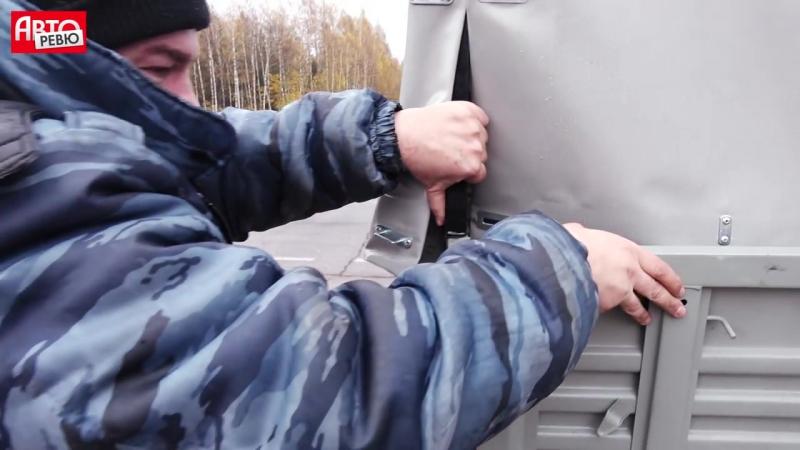 Тест полуторки УАЗ Профи_ выпадаем из кузова, а еще. Меняем колесо, взвешиваемся