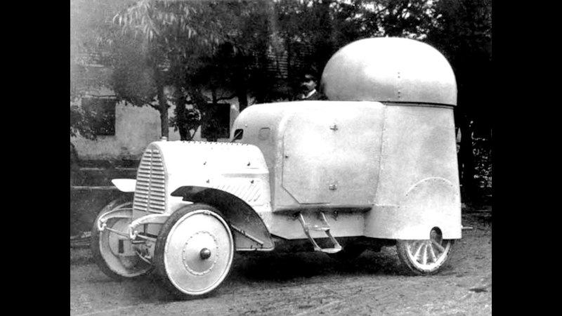 Austro Daimler Panzerwagen 1905