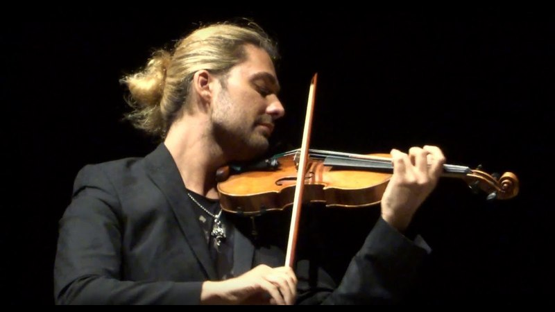 David Garrett - J.Brahms: Violin Sonata N.2 A-major op.100: II - Recital 2015