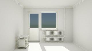 Моделирование квартиры. Часть 2. Окно и батарея.