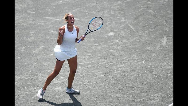 2018 Charleston Quarterfinals | Madison Keys vs. Bernarda Pera | WTA Highlights