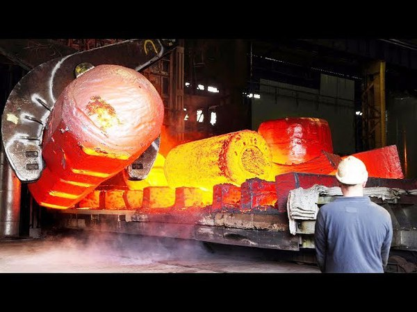 HYPNOTIC Video Inside the BIGGEST Germany Forging Factory 1000 tons Generator Shaft