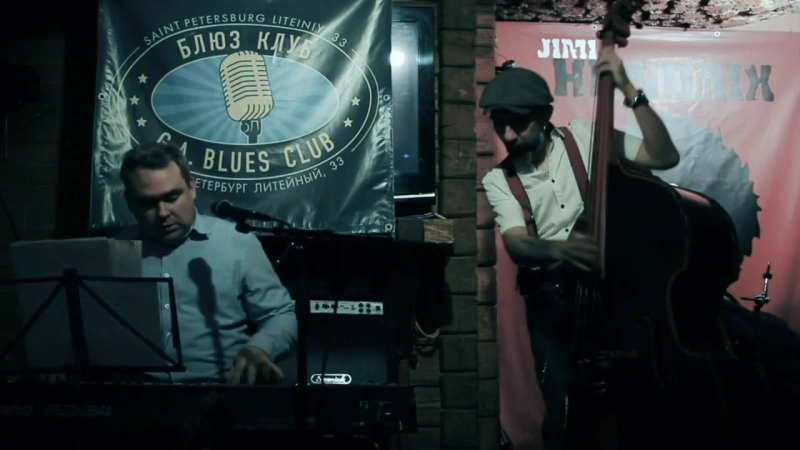 A V Prof Hobot Live in G A Blues Club 21 th of Dec 2017