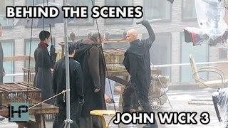 BTS: 'John Wick 3' Filming - Laurence Fishburne and Mark Dacascos Rooftop Sword Scene