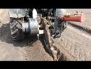 Выкопка траншеи для укладки труб, кабеля (бара)