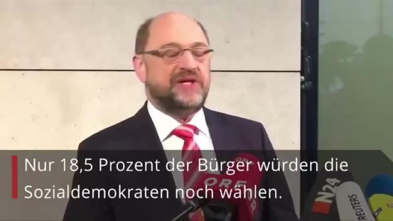 Umfrage-Schock im GroKo-Hick-Hack- SPD sackt auf historischen Tiefstwert ab