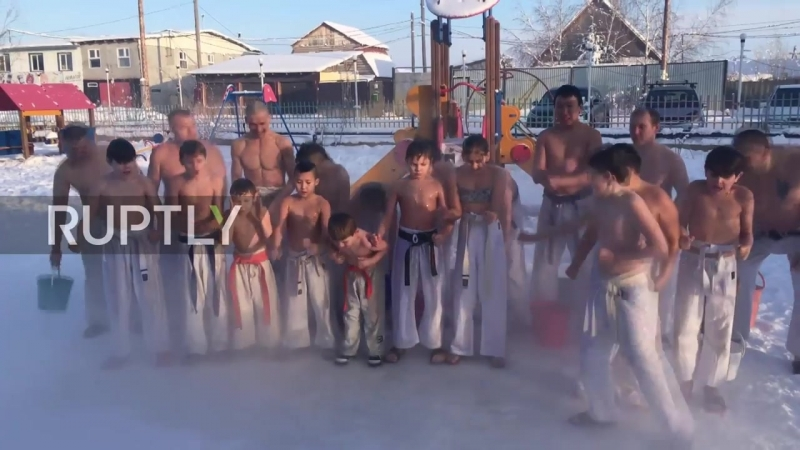 Yakutsk karate kids show DiCaprio temperature is just a number