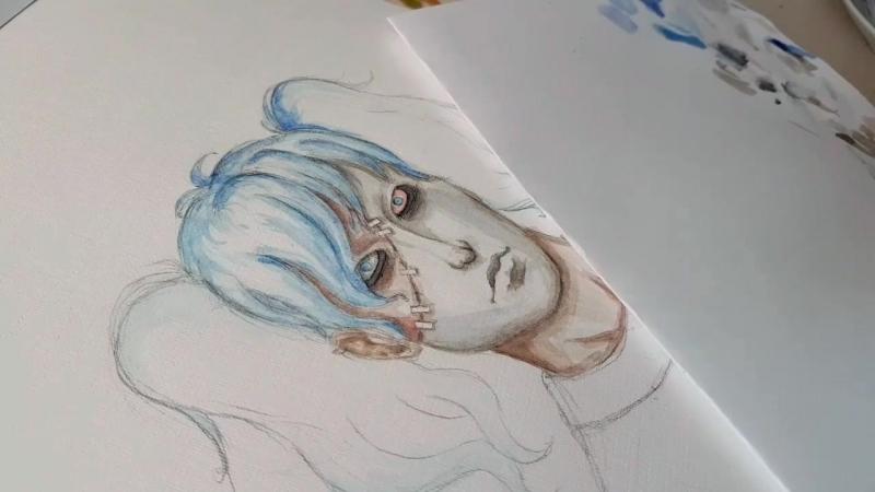 Sally face art by nastyamustdie .mp4