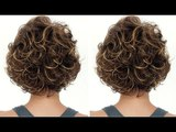 How to Cut a Curly Bob Haircut Tutorial Step by Step - Nick Arrojo