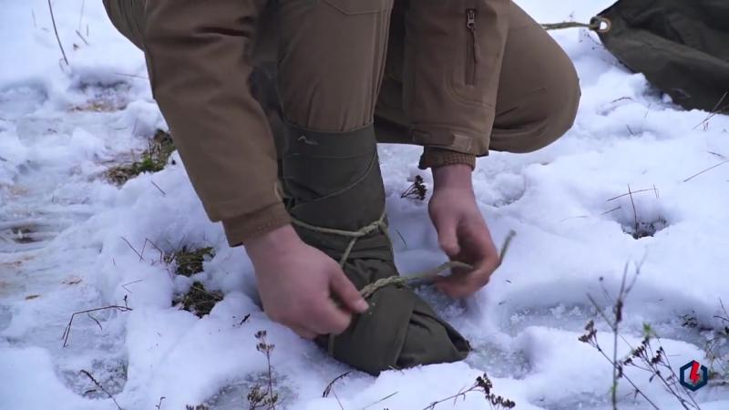 Как сделать обувь из плащ-палатки