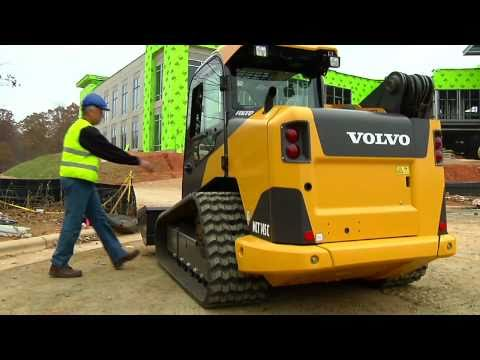 Volvo Wheeled and Tracked C-Series Skid Steer Loaders Presentation video
