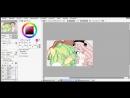 MLP Speedpaint - Pink Devil and Apple Sunsh