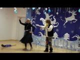 Баба Яга и Леший. Зажигательный танец!)