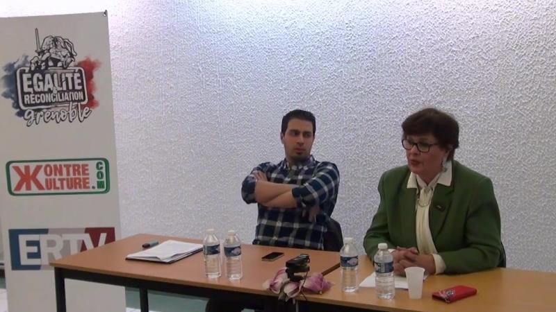 La République, son histoire, sa religion . Conférence de Marion Sigaut et Youssef Hindi (22)