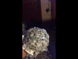 Свадебный Брошь букет из одних брошей🏵