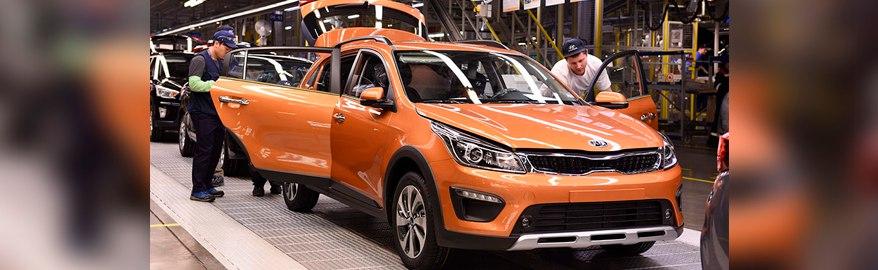Производство Kia Rio X-Line стартовало в России