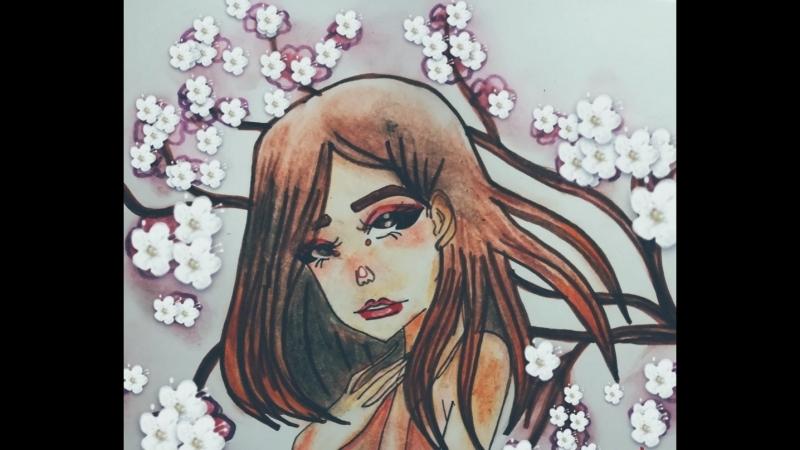 長刹那 ✿~ linering coloring special for chaika jpeg art by ✰ ℰссℏiℛℴsℯ ✰