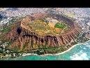 1123 США Гавайи Вокруг вулкана Даймонд Хед Океан и кратер