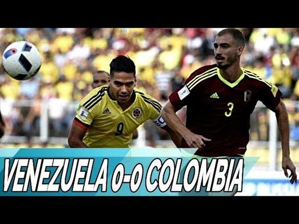 Venezuela 0-0 Colombia Resumen Completo Eliminatorias 31-08-2017