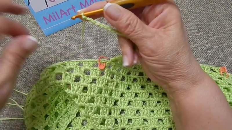 Blusa Verde Limon Crochet