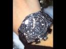 ⌚️💣любимчики 😍крутые часики 💎с черными кристаллами