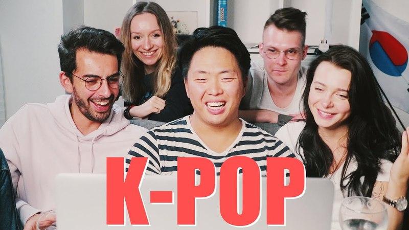 Реакция на K-POP [EXO, TWICE] w/ Касе Гасанов, Кирилл Скобелев, ulielie, Ася Шатова