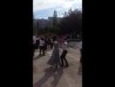 Сыночек танцует вальс с учительницей на последний звонок 24 мая 2018г