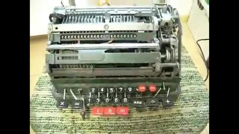 Деление на ноль на механической вычислительной машине