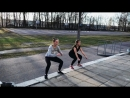Training on the street with Di