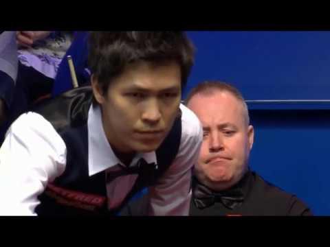 John Higgins Vs Thepchaiya Un Nooh เทพไชยา อุ่นหนู - Session 1 - World Championship 2018 - Last 32