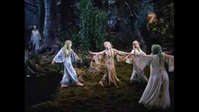 Песни русалок Руслан и Людмила, СССР, 1972 отрывок из хф [480p]
