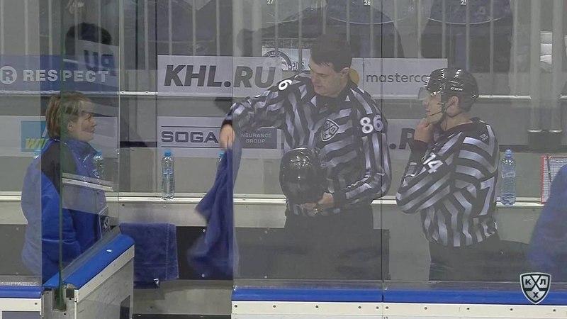Моменты из матчей КХЛ сезона 17 18 • Гол 2 0 Чичу Джонатан Слован увеличивает преимущество в счете в большиснтве 31 01