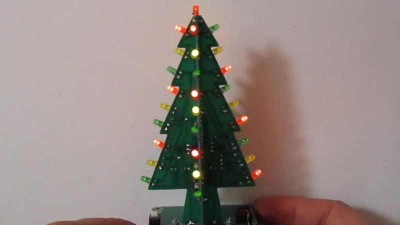 Ёлочка KIT DIY. Подробная видеоинструкция. Christmas tree KIT DIY.