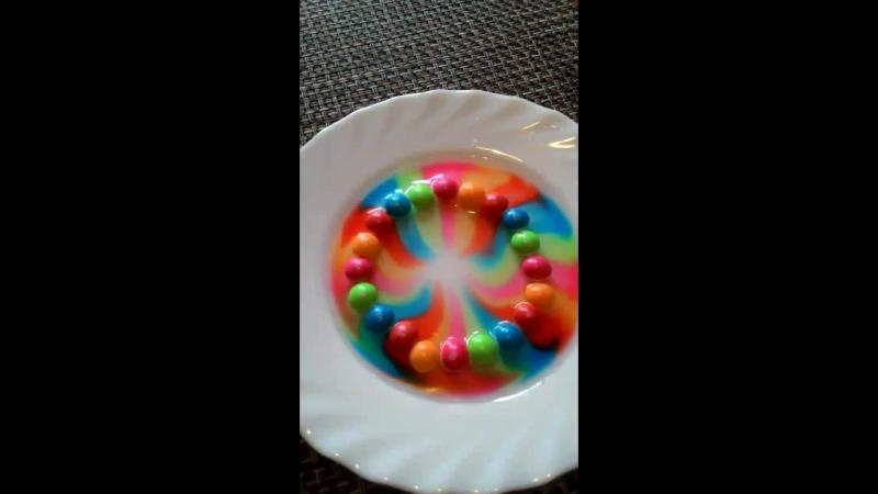 радуга Skittles