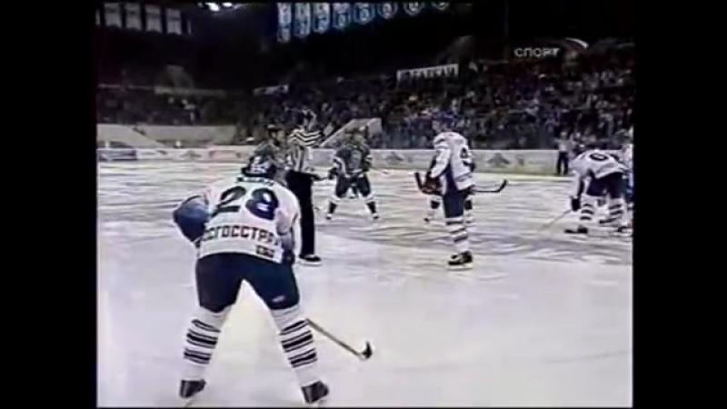 Чемпионат России сезон 2004-2005 Динамо (Москва) - Ак Барс (Казань) 1-1