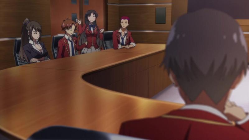 [AniDub] Добро пожаловать в класс элиты / Youkoso Jitsuryoku Shijou Shugi no Kyoushitsu e [05 из 12] (Ancord, Jade, Trina_D)