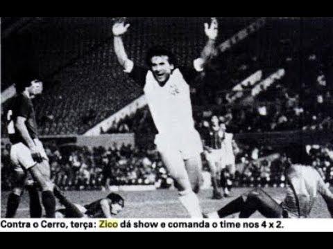Zico vs Cerro Porteño - Libertadores 1981