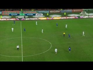 Кадыров и Рональдиньо забили голы итальянцам! Россия - Италия 6-2