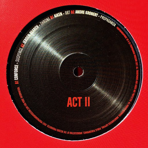 Conforce альбом Propaganda Moscow: Act II