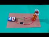 Как сделать мини-катушку Tesla своими руками !